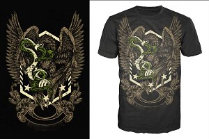 Eagle & Snake