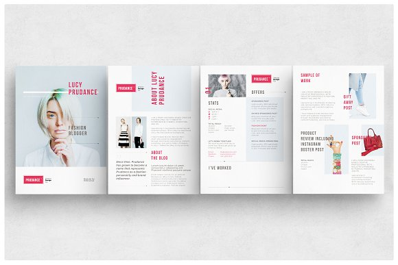 Media Kit Templates in Flyer Templates - product preview 1