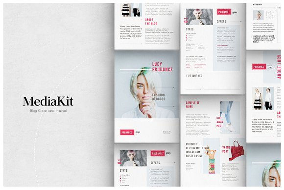 Media Kit Templates in Flyer Templates - product preview 2