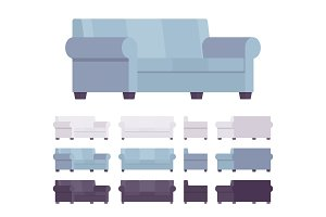 Sofa interior set