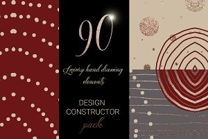 Luxury design constructor pack