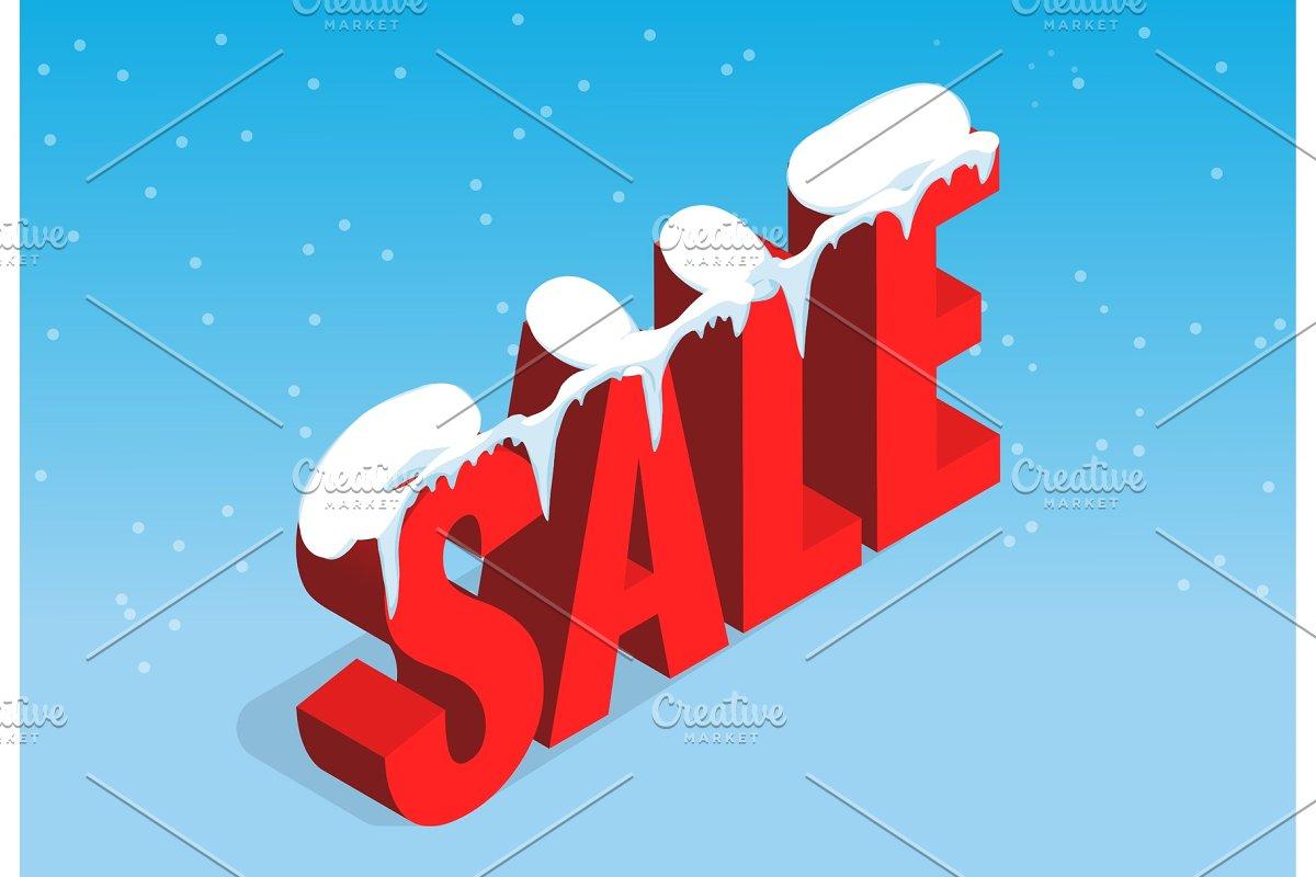 2ff5c155d1a7 Winter christmas sale banner