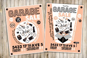 Garage Sale Flyer Poster(6)