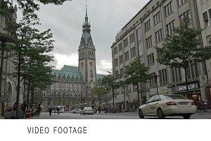 Hamburg city hall.