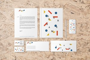 Inspirare corporate identity pack