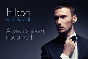 Hilton Sans Font