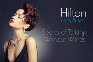 Hilton Serif Font