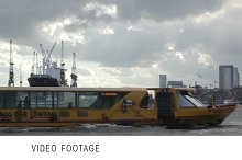 Cargo ship time lapse.