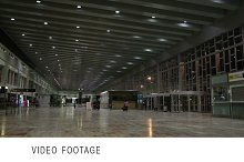 Airport hall.