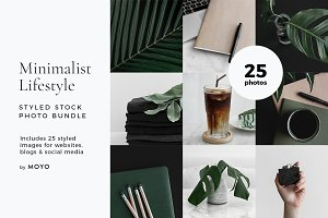 Minimalist Lifestyle Photo Bundle