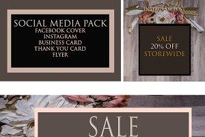 Boho Social Media Pack