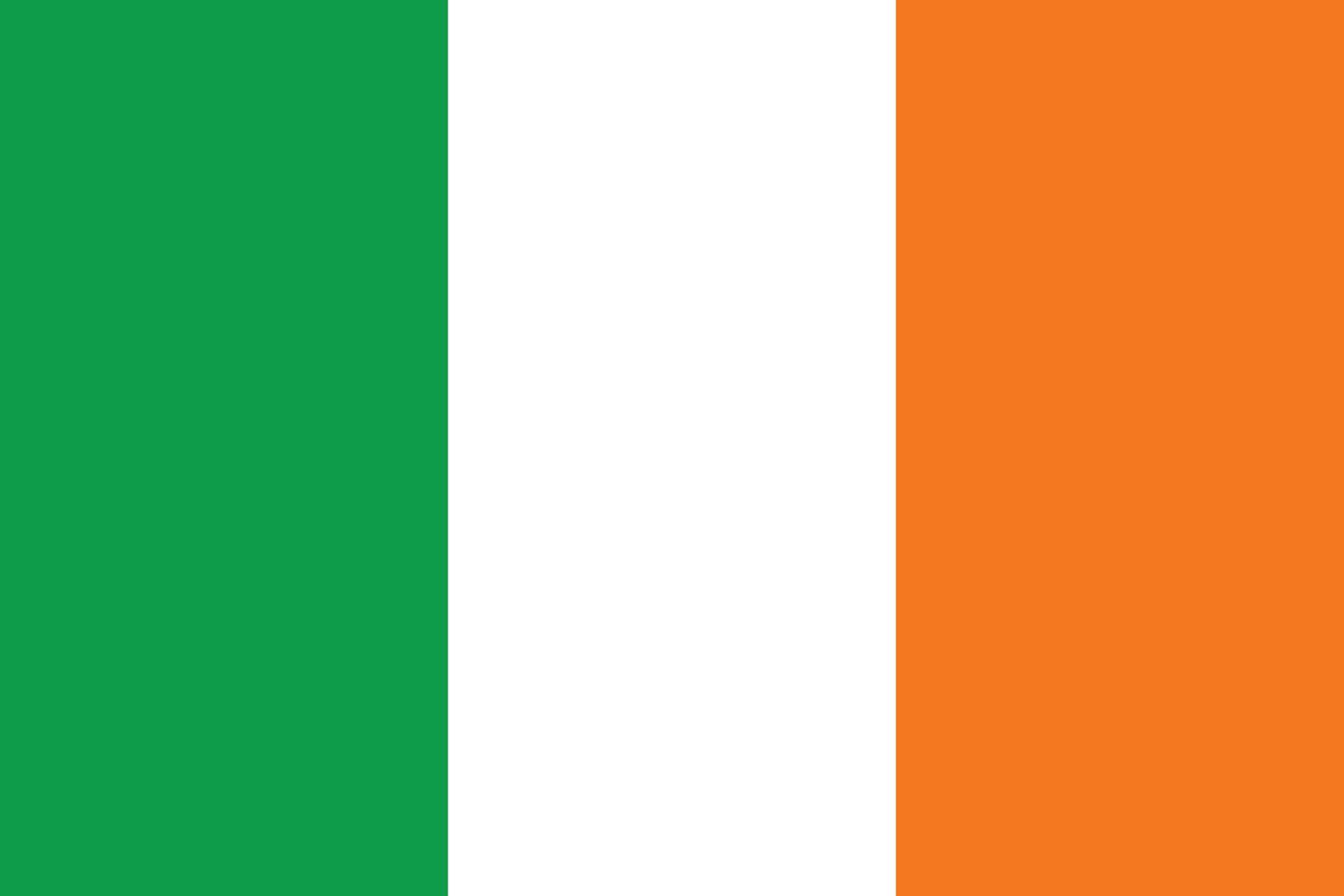 Vector Of Irish Flag Custom Designed Icons Creative