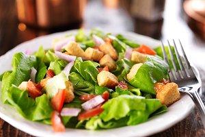 tasty green salad