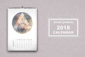 """Sacred Geometry"" 2018 calendar"