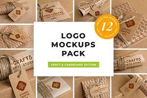 Logo Mockup Pack. Craft Edition