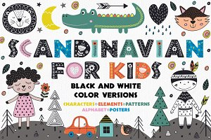 Scandinavian For Kids collection