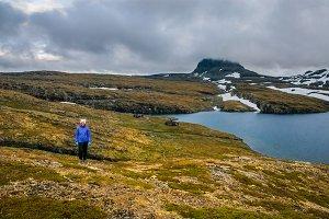 Girl in Norway