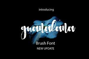 Guanabana Brush Font