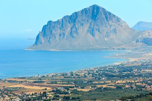 Tyrrhenian coastline, Sicily, Italy