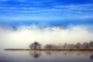 Landscape Blue Lake