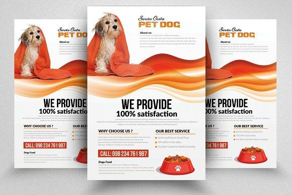 Pet Shop FlyerTemplates