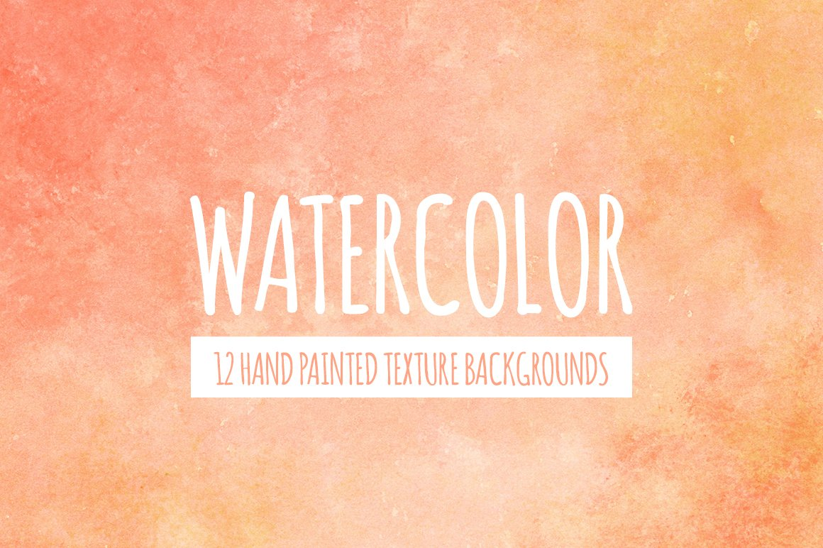 peach orange watercolor background custom designed textures creative market peach orange watercolor background