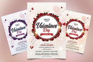 Valentines Day - Minimal PSD Flyer