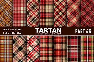 Seamless  Tartan Pattern Part - 46