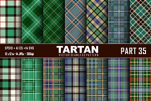 Seamless  Tartan Pattern Part -35