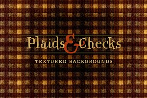 Plaid & Check Autumn/Fall Fabrics