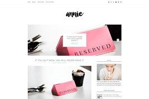 Minimal Blogger Template - Annie