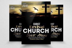 Revival Church Flyer Templates