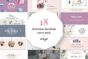 Christmas Facebook Cover Pack