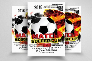 Football Match Flyers