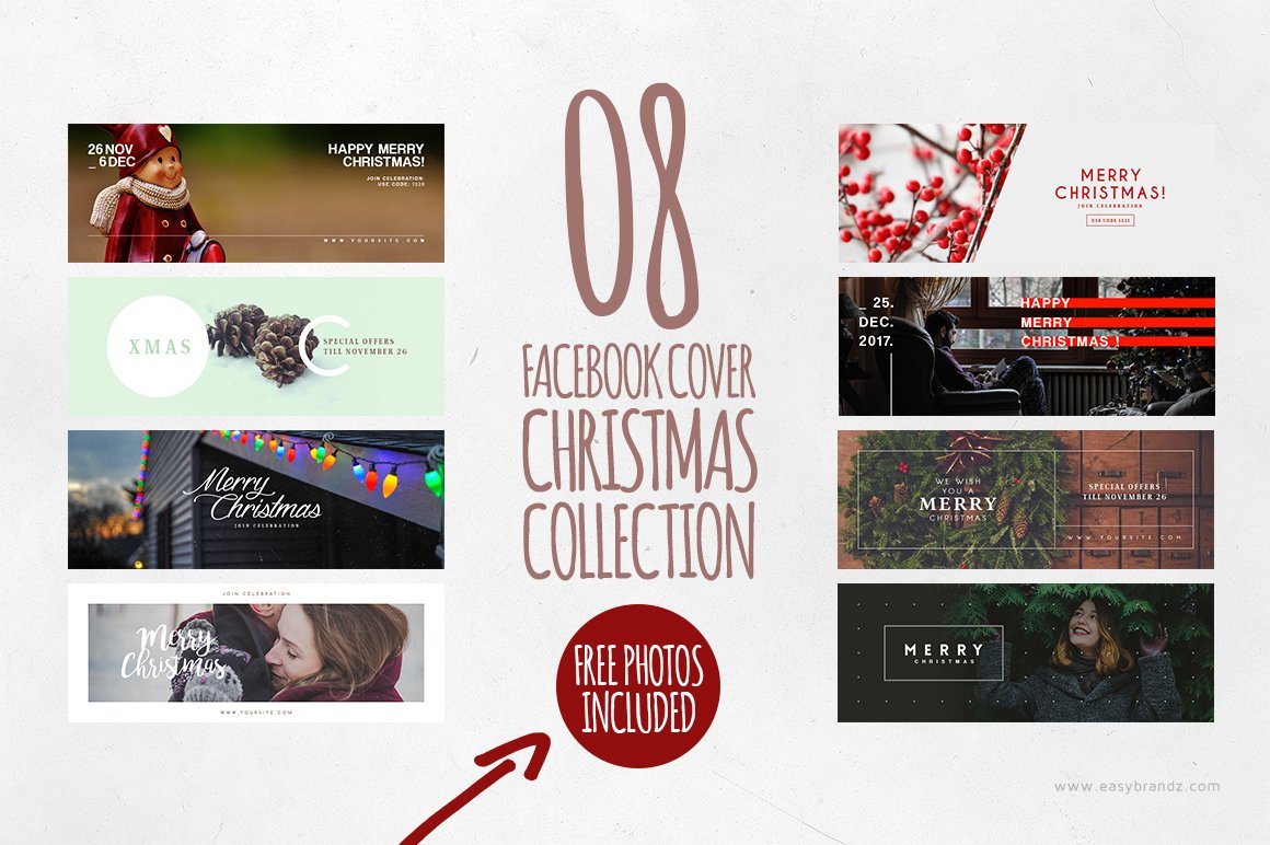 Christmas Facebook Cover Photos Graphics Fonts Themes Templates