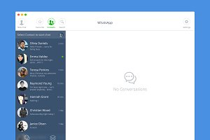 WhatsApp for OSX