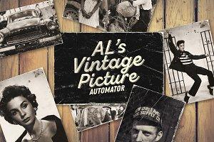 AL's Vintage Picture Automator