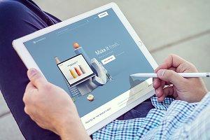 iPad Pro Mockups v8
