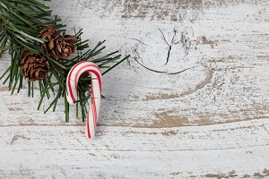 Simple Christmas Candy Cane