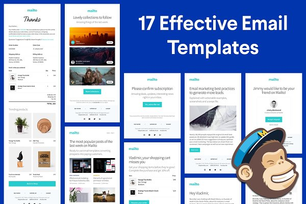 Campaign Monitor Templates: Nice, Very Nice - 17 Responsive HTML Email Templates
