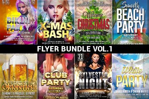 Flyer Bundle Mega Pack Vol.1