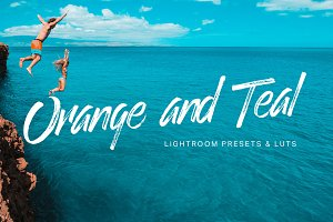 Orange Teal Lightroom Presets + LUTs