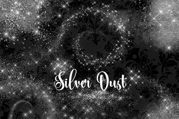 Silver Dust Overlays