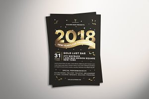 New Year's Eve Celebration Flyer