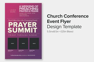 Church Conference Event Flyer