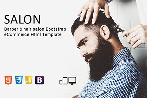 Salon - Bootstrap Html Template
