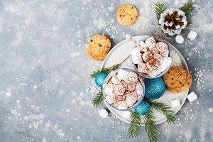 Festive Christmas cacao