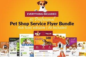 10 Pet Shop Flyer Bundle Vol:01