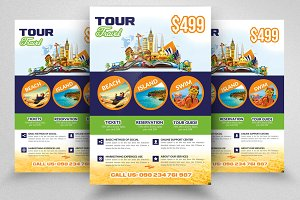 Tour & Travel Flyer With Images