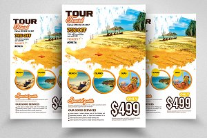 Travelling Agency Flyer